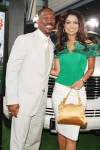Eddie Murphy and Tracey Edmonds at the premiere of The Weinstein Co.'s