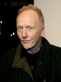 Tobin Bell at the launch party for MSNBC's new entertainment shows in N.Y.