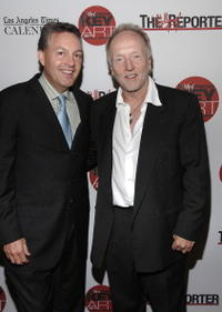 Publisher of The Hollywood Reporter John Kilcullen and Tobin Bell at the Hollywood Reporter Key Art Awards in L.A.