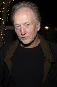 Tobin Bell at the Lions Gate International AFM Cocktail Party.