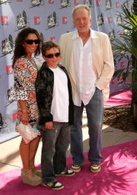 Tobin Bell and his Family at the 2007 MTV Movie Awards.