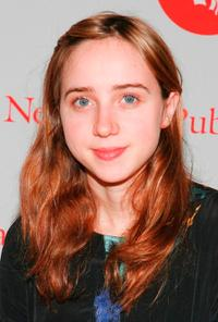 Zoe Kazan at the Ninth Annual Young Lions Fiction Award Ceremony.