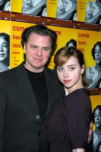 Kevin Anderson and Zoe Kazan at the after party of the opening night of