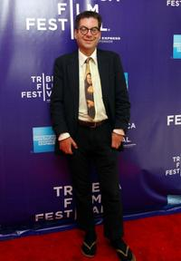 Michael Musto at the 2009 Tribeca Film Festival.