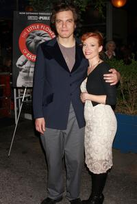 Michael Shannon and Elizabeth Canavan at the world premiere of