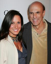 Sitara Hewitt and Ned Bellamy at the premiere of