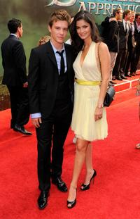 Xavier Samuel and Shermine Sharivar at the premiere of