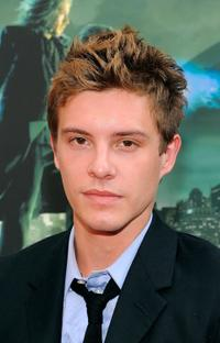 Xavier Samuel at the premiere of