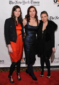 Grace Dunham, Laurie Simmons and Lena Dunham at the IFP's 20th Annual Gotham Independent Film Awards in New York.