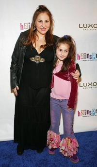 Kathy Najimy and her daughter Samia at the opening night performance of