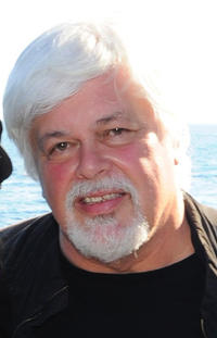Paul Watson at the Sea Shepard's Steve Irwin Vessel during The 64th Annual Cannes Film Festival in France.