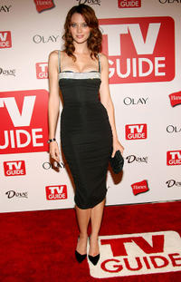 April Bowlby at the 4th annual TV Guide after party celebrating Emmys 2006 in California.