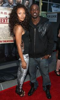 Eva Macil and Lance Gross at the screening of