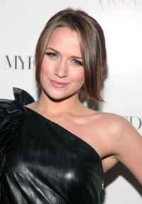 Shantel VanSanten at the launch party for My Fashion Database - myfdb.com.