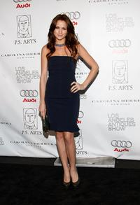 Shantel VanSanten at the LA Art and Antique Show benefiting P.S. Arts.