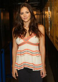 Katharine McPhee at the MTV's Total Request Live.