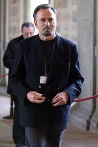 Franco Nero at the Pope Benedict XI Meets The Artists At The Sistine Chapel.