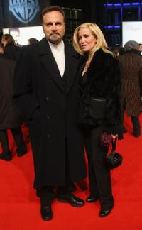 Franco Nero and Romina di Lella at the premiere of