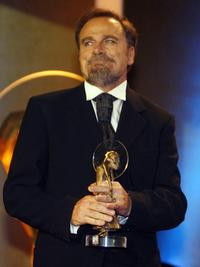 Franco Nero at the German entertainment awards' ceremony in Munich.