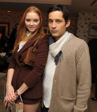 Lily Cole and Enrique Murciano at the after party of the premiere of