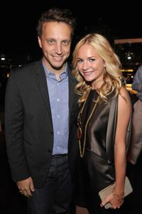 Ariel Foxman and Brittany Robertson at the InStyle Magazine's Summer Soiree.