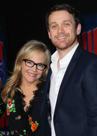 Rachael Harris and Michael Arden at the California premiere of