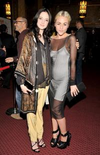Andrea Riseborough and Jaime Winstone at the premiere of