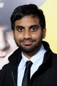 Aziz Ansari at the premiere of