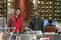Nick Kroll as Kevin and Aziz Ansari as Matty in