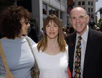 Rosie Shuster, Laraine Newman and Michael Radner at the ceremony honoring posthumously Gilda Radner with a star on the Hollywood Walk of Fame.