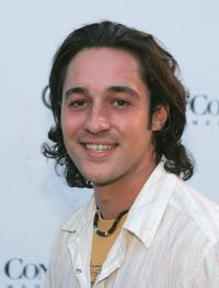 Thomas Ian Nicholas at the party thrown by Audi and Conde Nast.