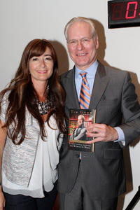 Deborah Lloyd and Tim Gunn at the Tim Gunn book launch during the Kate Spade New York celebration.