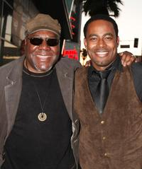 Frankie Faison and Lamman Rucker at the premiere of