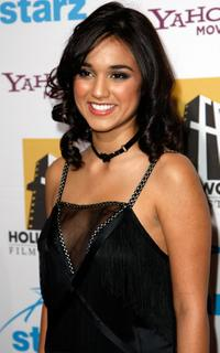 Summer Bishil at the 11th Annual Hollywood Awards.