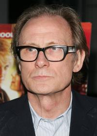 Bill Nighy at the premiere of