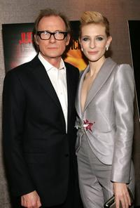 Bill Nighy and Cate Blanchett at the