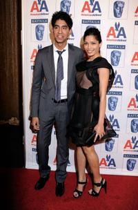 Dev Patel and Freida Pinto at the 8th Annual British Academy Of Film And Television Arts Britannia Awards.