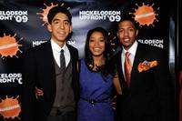 Dev Patel, Keke Palmer and Nick Cannon at the Nickelodeon Upfront Presentation.