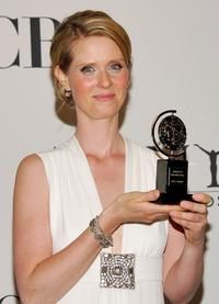 Cynthia Nixon at the 60th Annual Tony Awards.