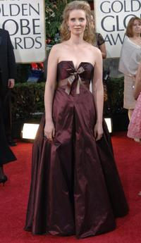 Cynthia Nixon at the Golden Globe Awards.