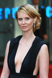 Actress Cynthia Nixon at the London