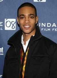 Eugene Jones at the premiere of