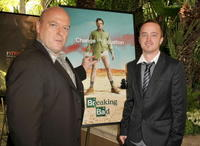 Dean Norris and Aaron Paul at the AFI Awards 2008.