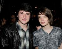 Dylan Minnette and Kodi Smit-McPhee at the after party of the premiere of