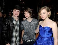 Dylan Minnette, Kodi Smit-McPhee and Chloe Moretz at the after party of the premiere of