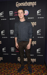 Dylan Minnette at the New York premiere of