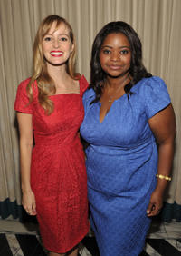 Ahna O'Reilly and Octavia Spencer at the Audi Kicks Off The 63rd Primetime Emmy Awards Week 2011 in California.