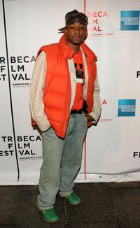 Dennis White at the screening of