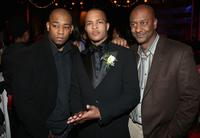 Dennis White, T.I. and Stephen Hill at the