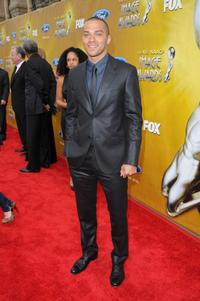 Jesse Williams at the 41st NAACP Image Awards.